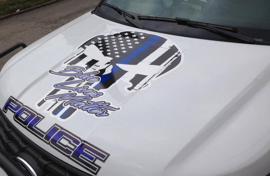 Punisher - radiowóz - zdjęcie