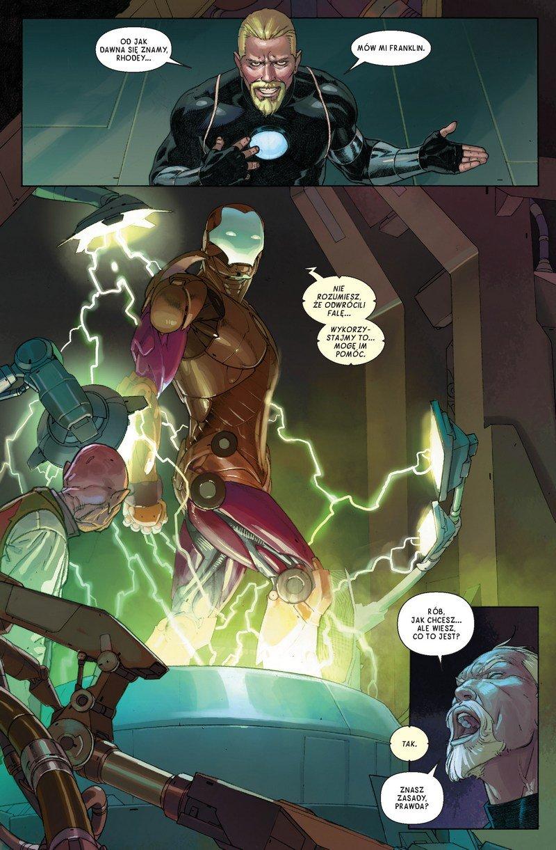 Avengers #05. Dostosuj się lub zgiń - plansza 1