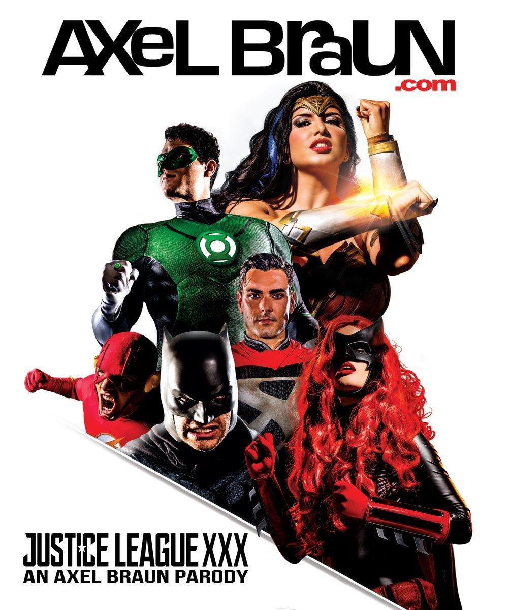 Justice League XXX - plakat