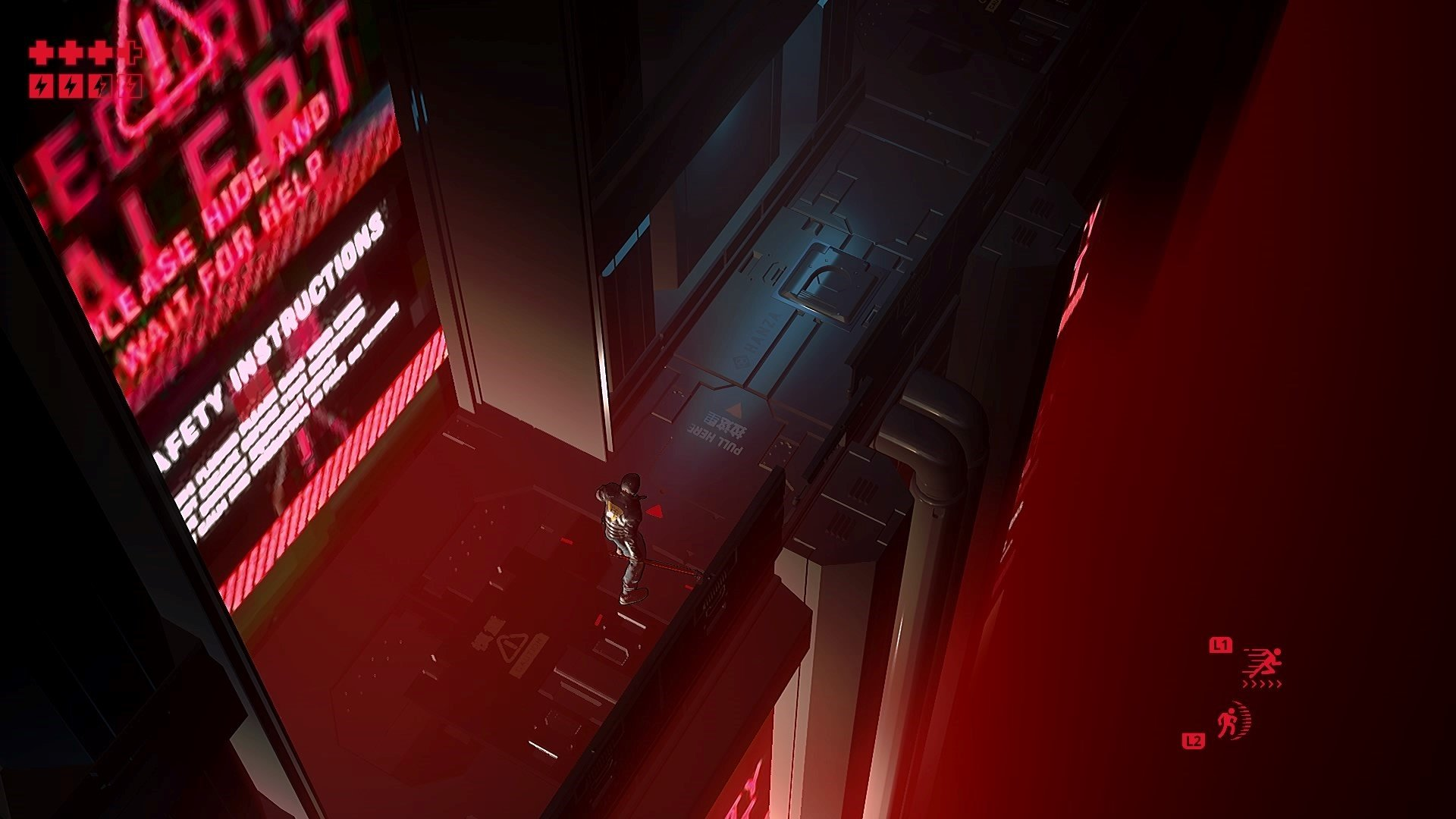 Ruiner - screeny z gry