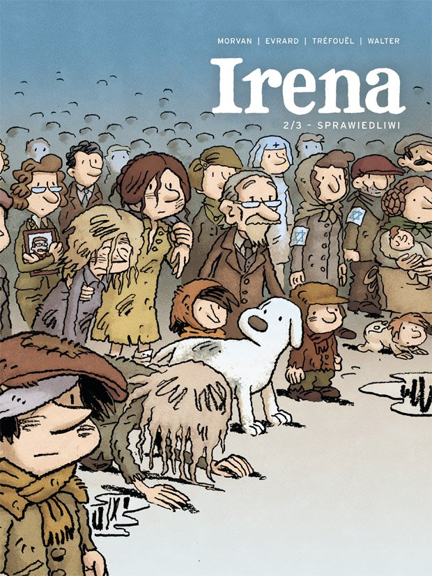 Irena 2: Sprawiedliwi - okładka
