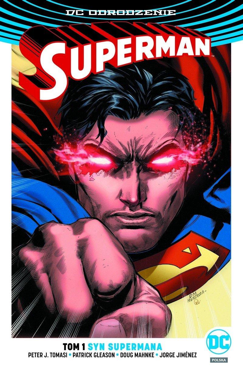 Superman #01. Syn Supermana - okładka