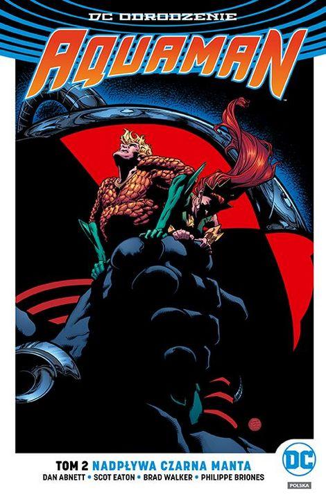 Aquaman – Nadpływa Czarna Manta, tom 2 - okładka