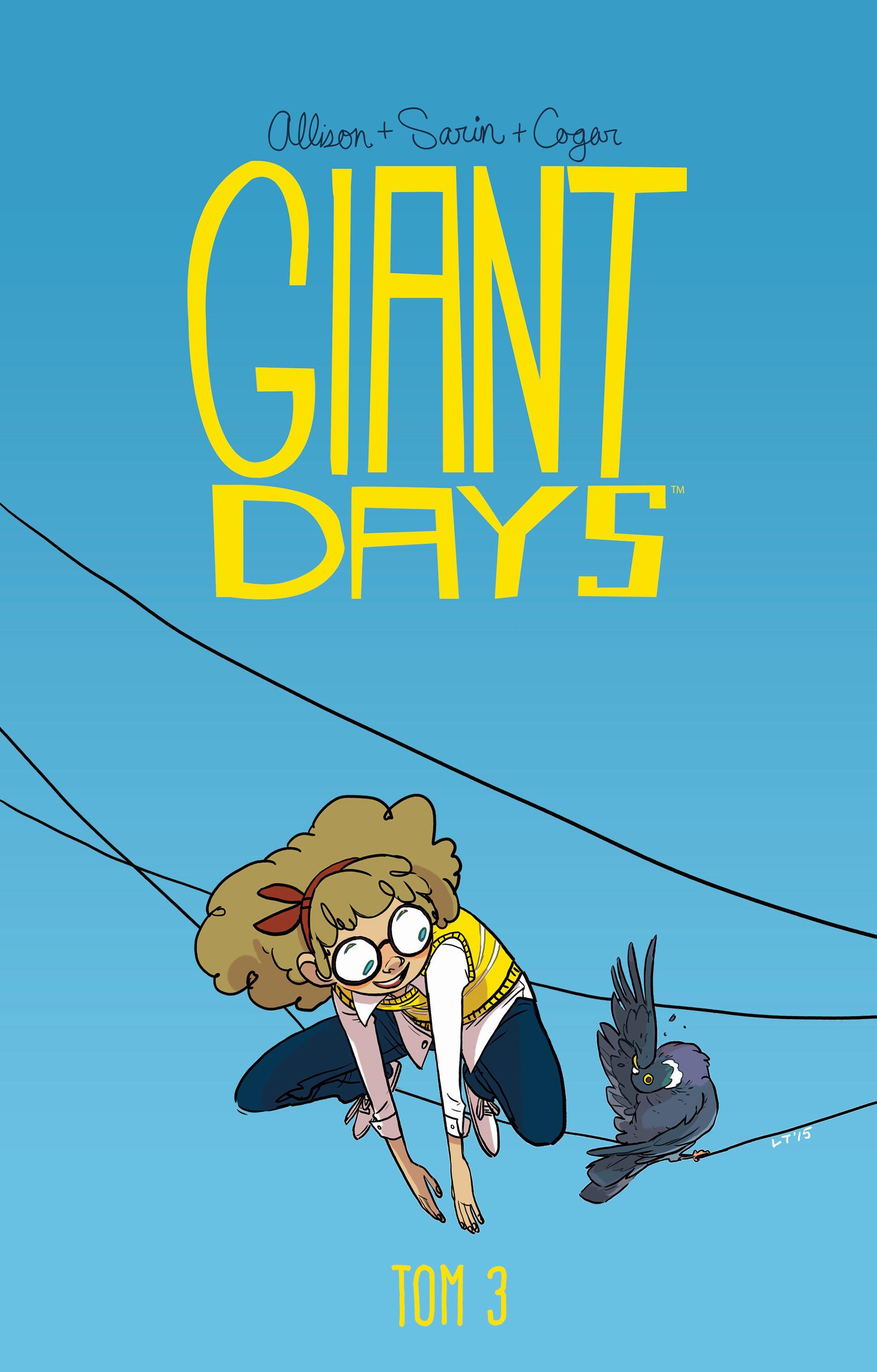 Giant Days, tom 3 - okładka