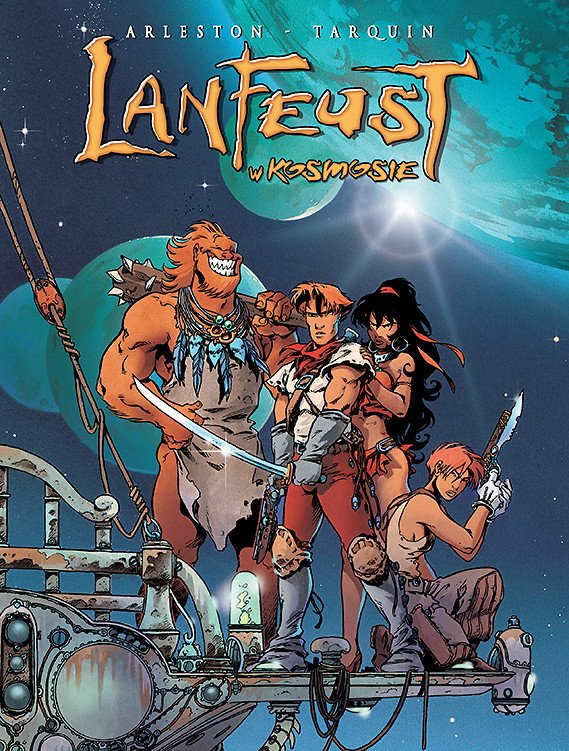 Lanfeust w Kosmosie, tom 1 - okładka