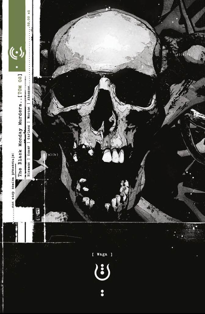 The Black Monday Murders #02. Waga - okładka