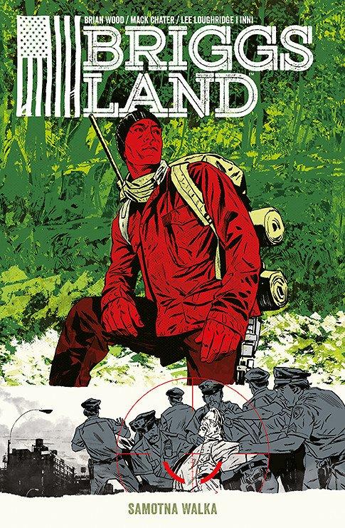 Briggs Land. Samotna walka, tom 2 - okładka