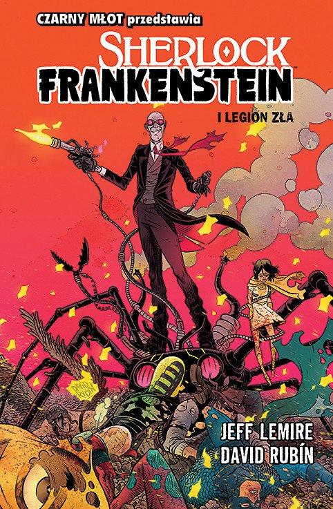 Sherlock Frankenstein, tom 1 - okładka