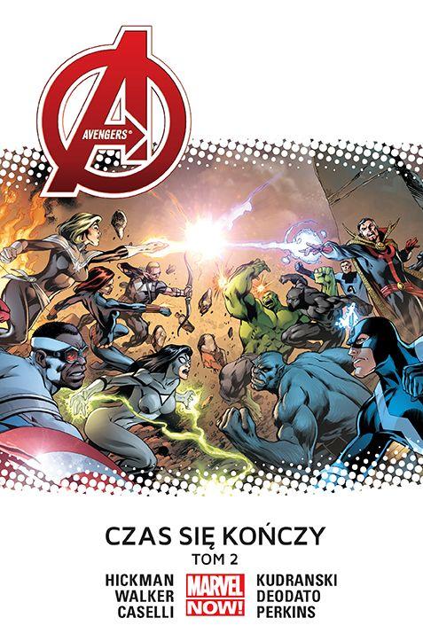 Avengers. Czas się kończy #02 - plansze z komiksu
