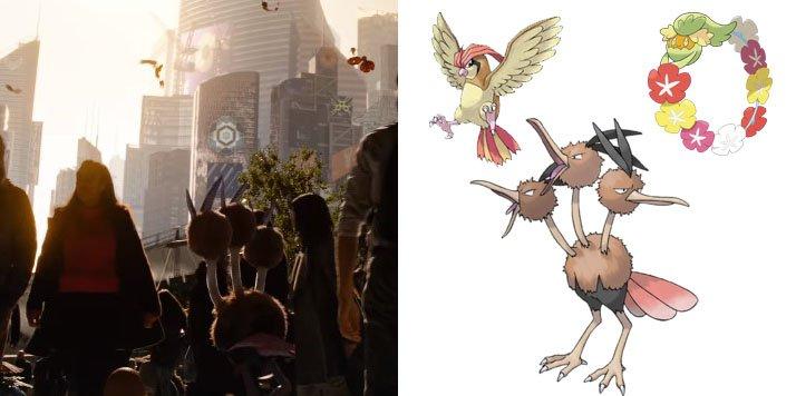 Pokemony w zwiastunie filmu Detective Pikachu