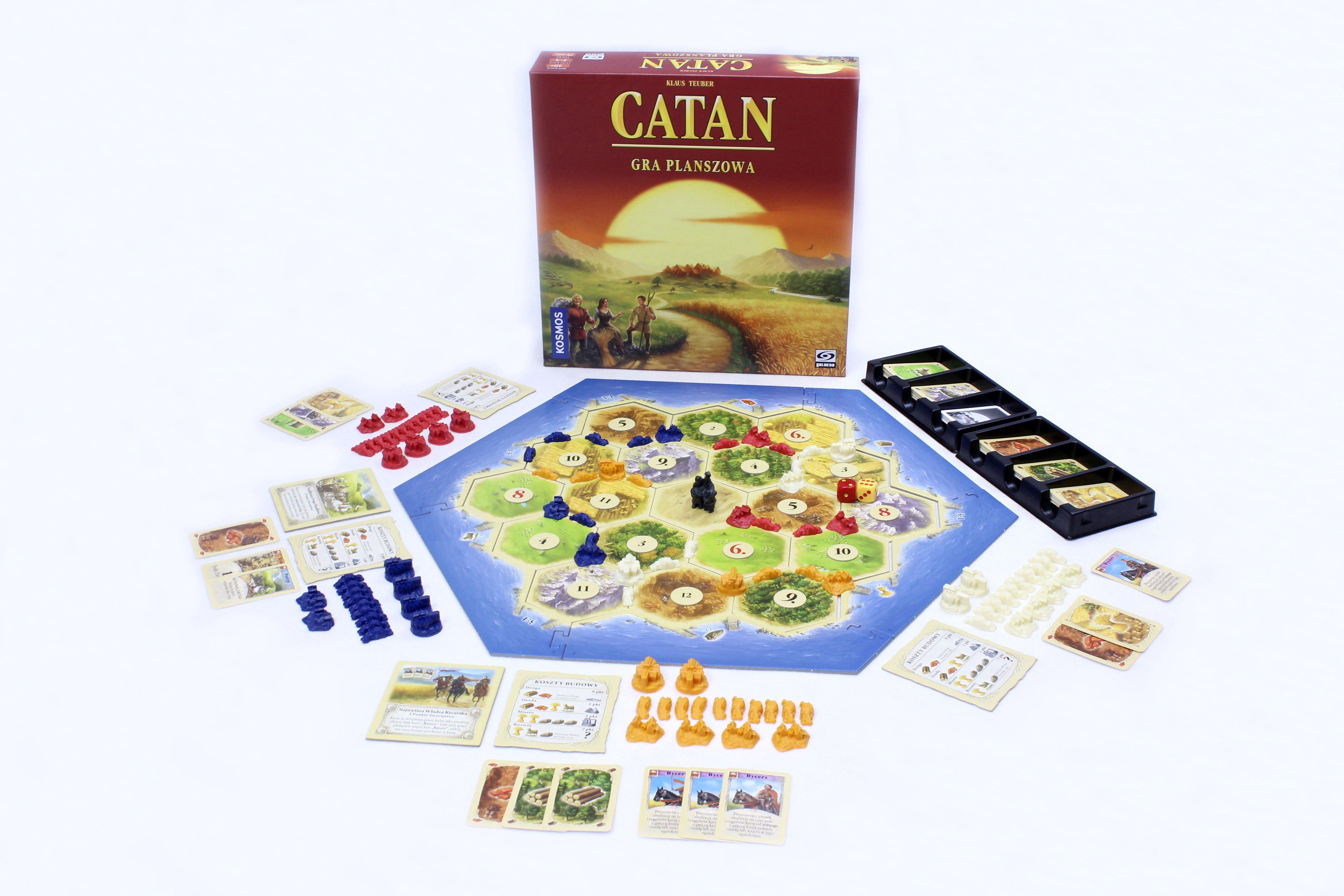 Catan - gra planszowa
