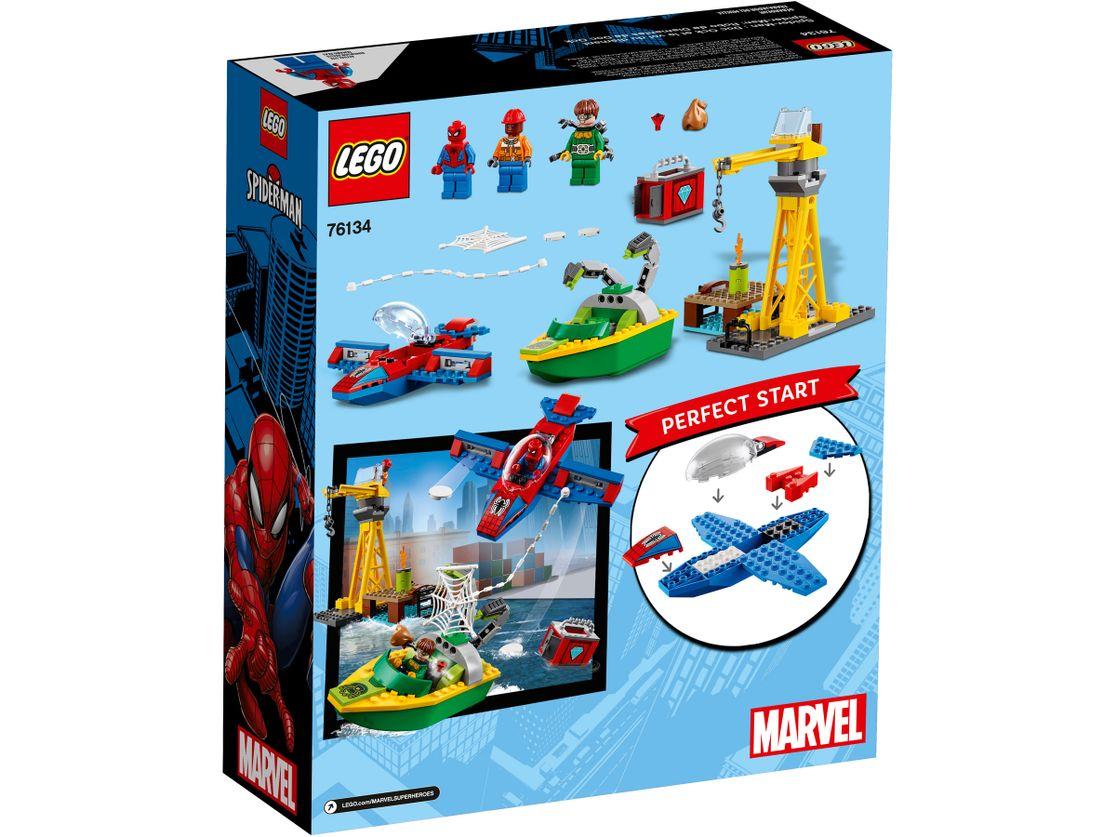 Lego Spider-Man - Doktor Octopus - skok na diamenty