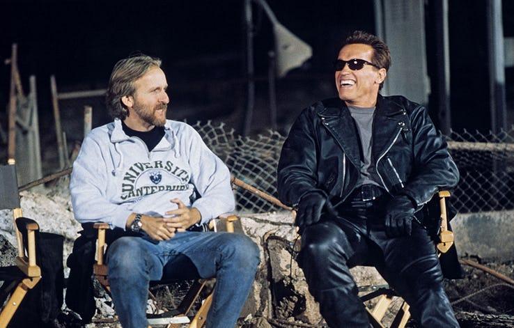 Terminator - zdjęcia zakulisowe z serii