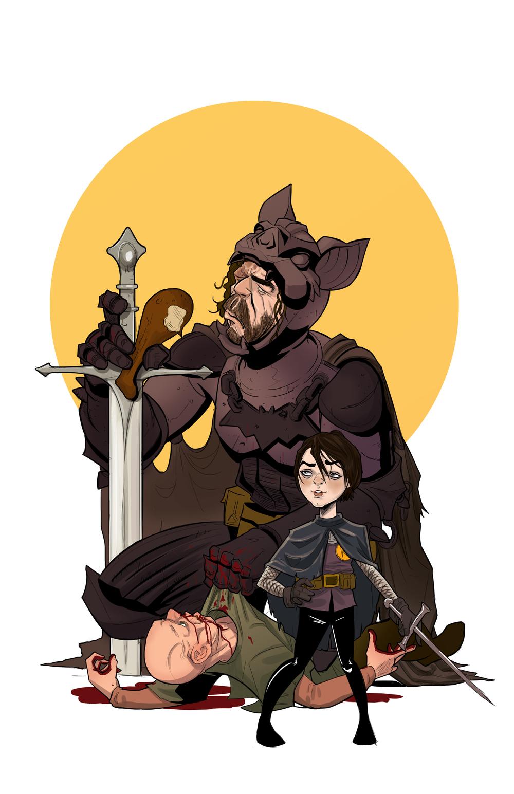 Ben Matsuya - najlepsze ilustracje w komiksowym stylu