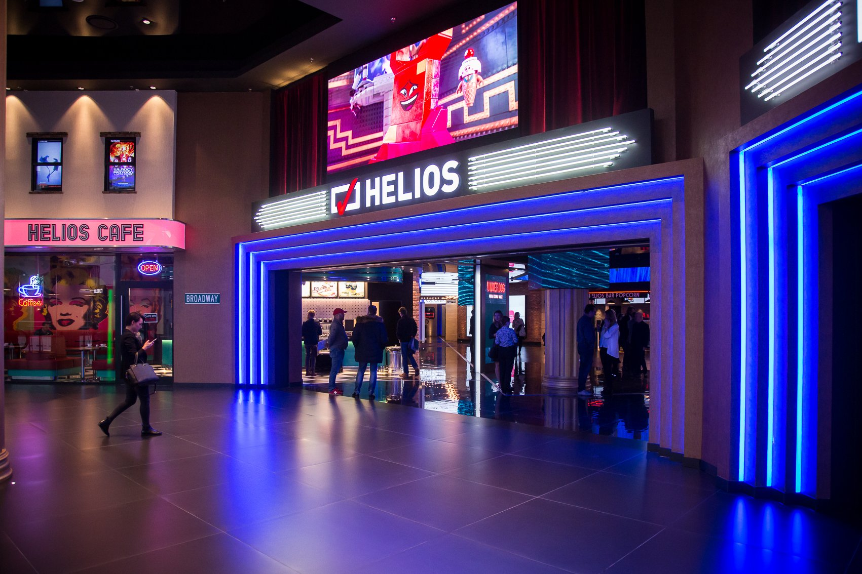 Helios - Blue City