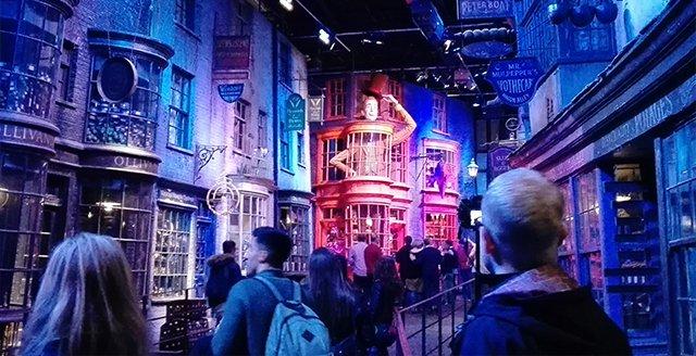 Warner Bros. Studio Tour London, marzec 2017 r.