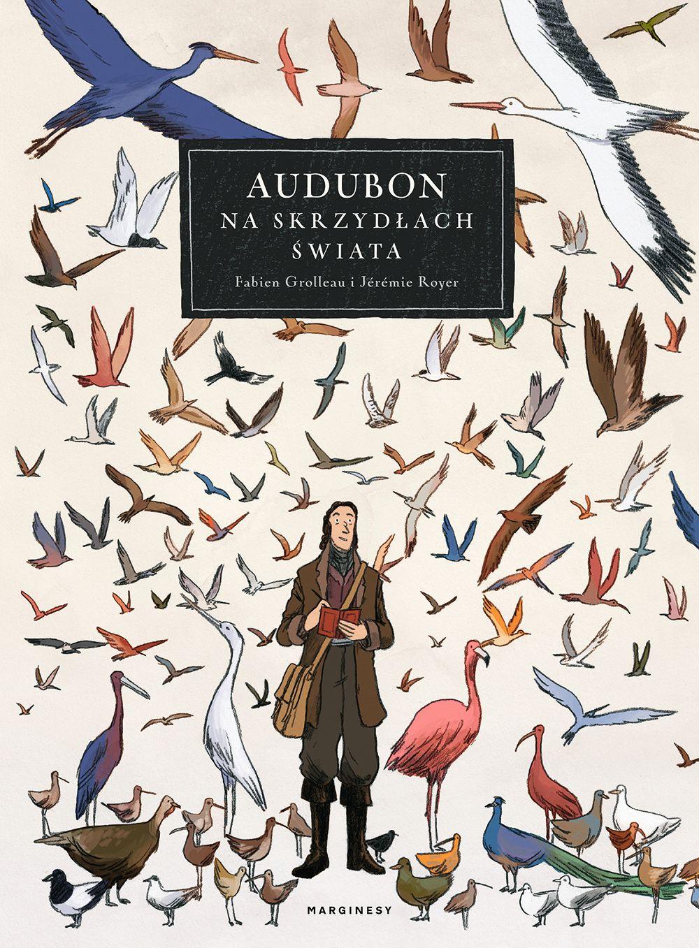 Audubon. Na skrzydłach świata - okładka
