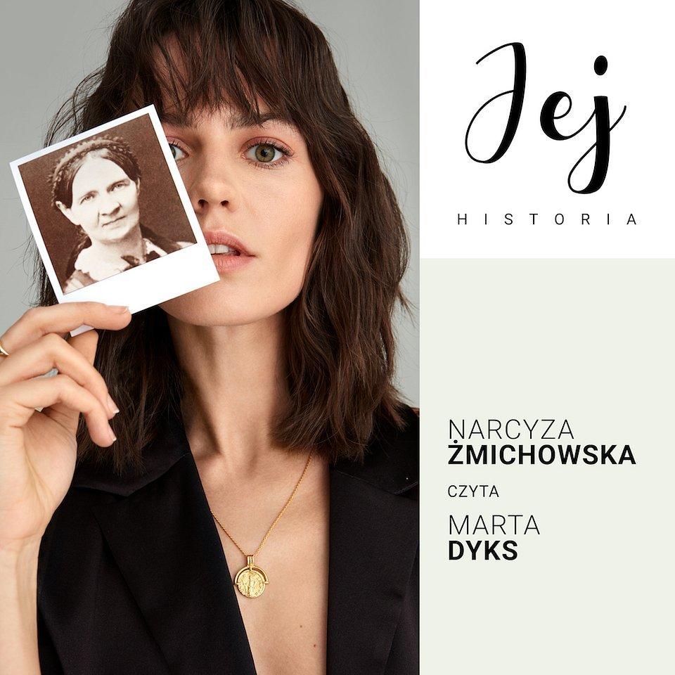 Jej historia. Narcyza Żmichowska - okładka