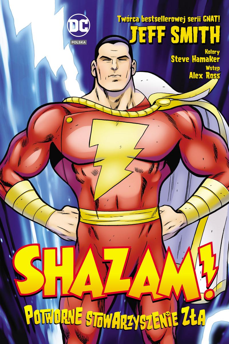 Shazam! Potworne stowarzyszenie zła - okładka