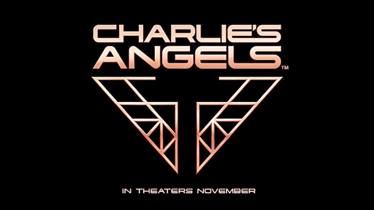 Aniołki Charliego - logo