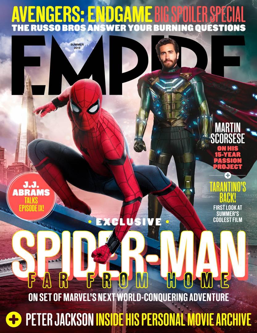 Spider-Man: Daleko od domu - okładka Empire