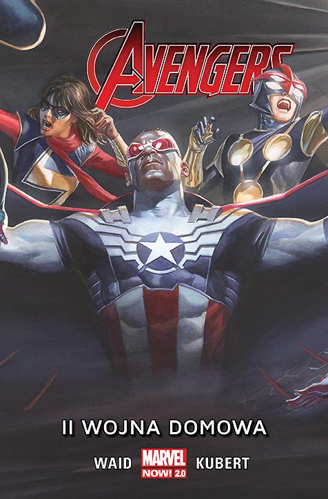 Avengers – II wojna domowa, tom 3 - okładka