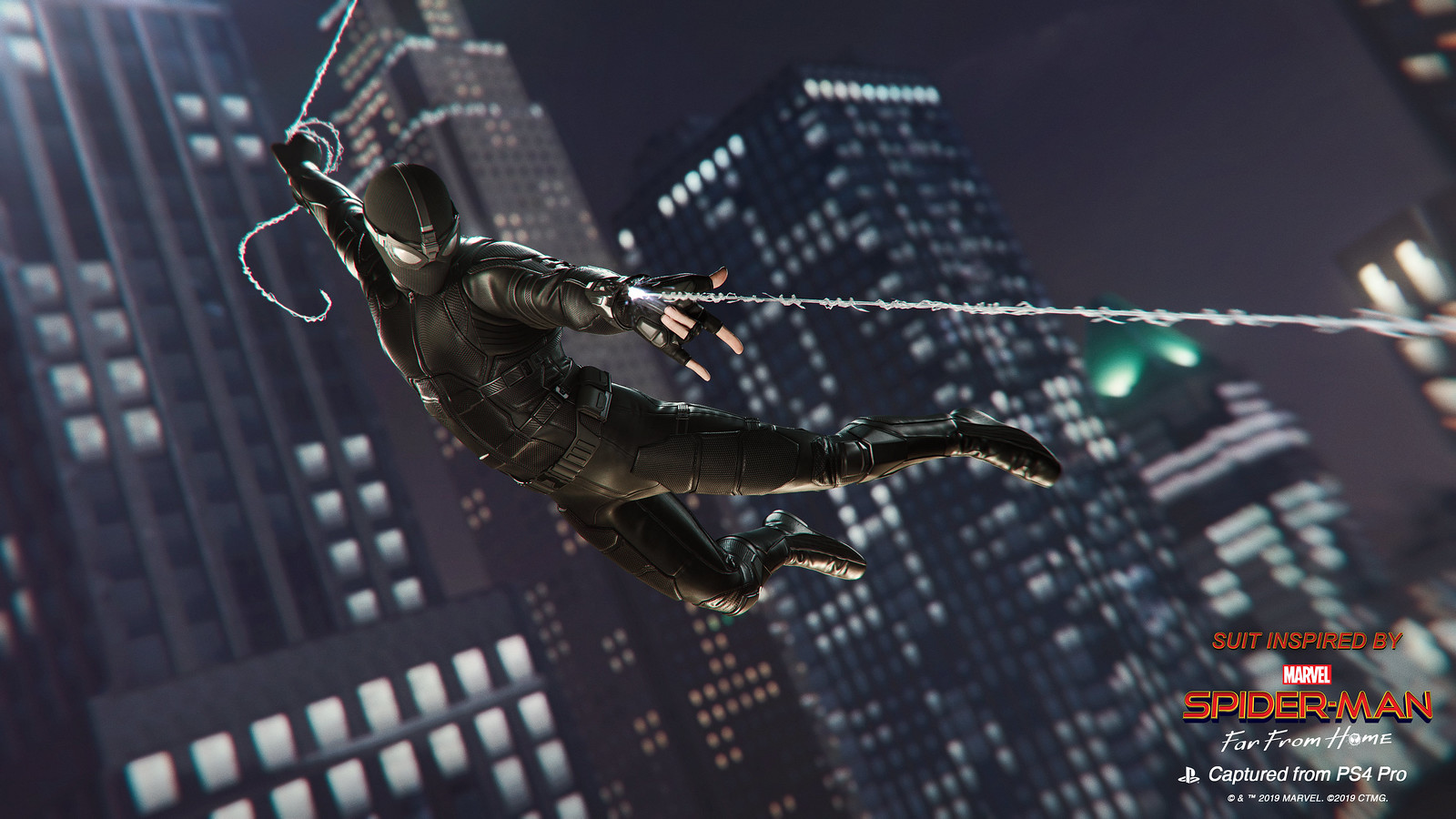 Spider-Man: Far From Home Stealth Suit