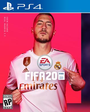 FIFA 20 - okładka