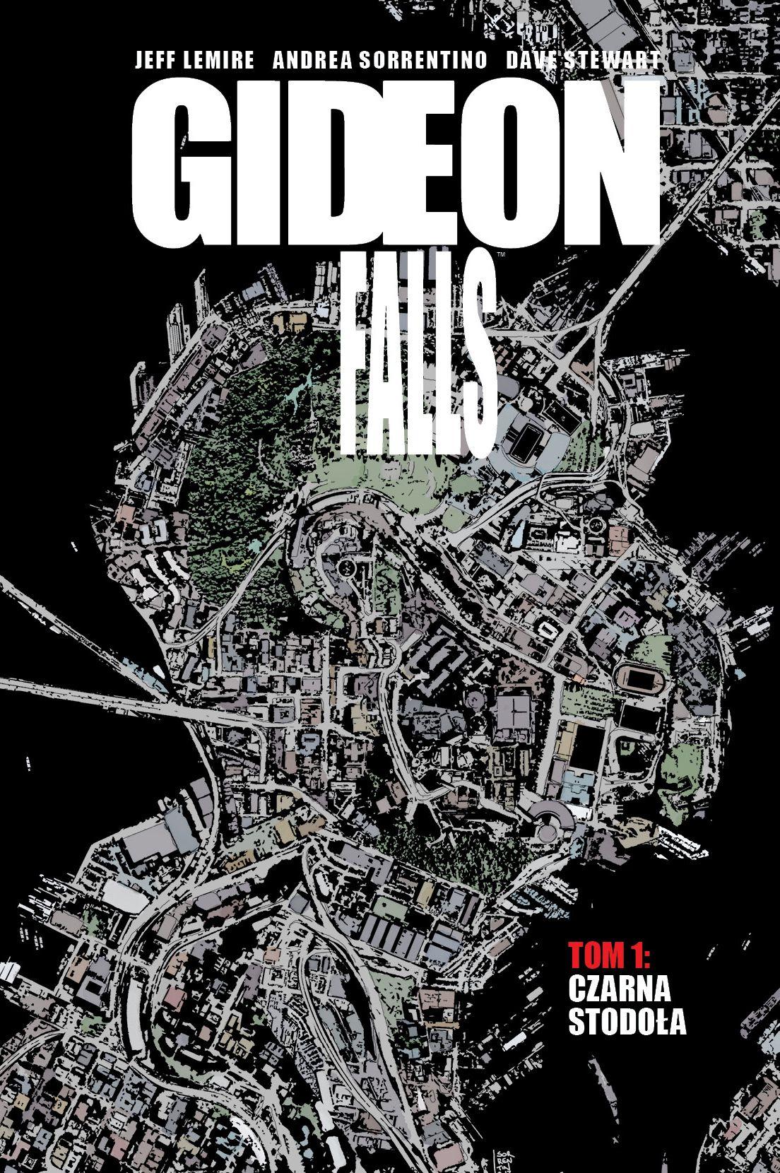 Gideon Falls #01. Czarna stodoła - okładka