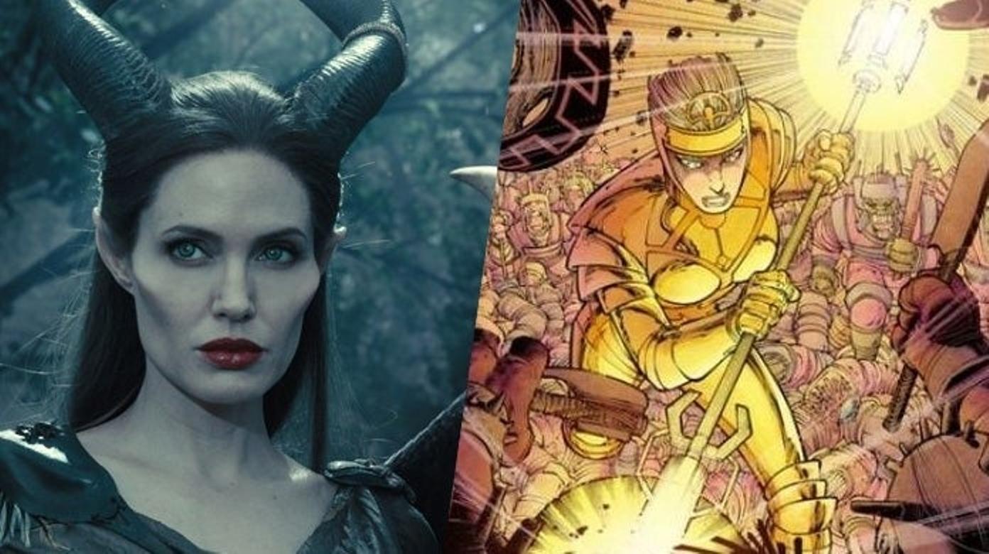 Thena (urodzona jako Azura) – w młodości dążyła przede wszystkim do chłonięcia wiedzy i doskonalenia się w sztuce walki, to prawdopodobnie dla niej a nie olimpijskiej Ateny założono miasto Ateny. Wyznała publicznie, że należy do Przedwiecznych, sprzymierzała się z Thorem i Avengers. Po śmierci Zurasa została przywódczynią swojej rasy, jednak trauma spowodowana odejściem ojca nie pozwoliła jej na normalne funkcjonowanie. W trakcie wojny wietnamskiej zaszła w ciążę ze złoczyńcą, Dewiantem Kro – owocem ich miłości były bliźniaki, które Thena oddała pod opiekę bezpłodnej kobiecie. KREWNI: Zuras (ojciec), Cybele (matka), Thanos i Starfox (kuzyni). MOCE: Nadludzka zwinność, szybkość, wytrzymałość i siła. Potrafi manipulować energią kosmiczną, co pozwala jej na telekinezę, termokinezę, telepatię, teleportację i manipulowanie cząstkami na poziomie molekularnym.