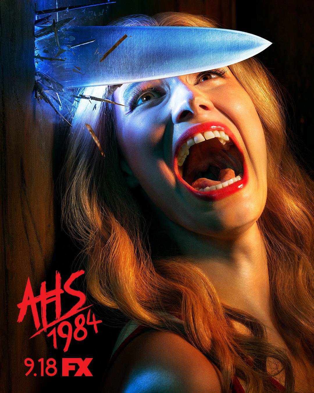 American Horror Story: 1984 - plakat