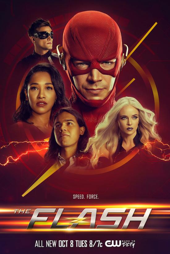 Flash 6. sezon - plakat