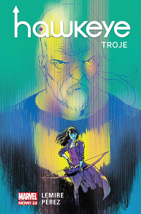 Hawkeye. Troje, tom 2 - okładka