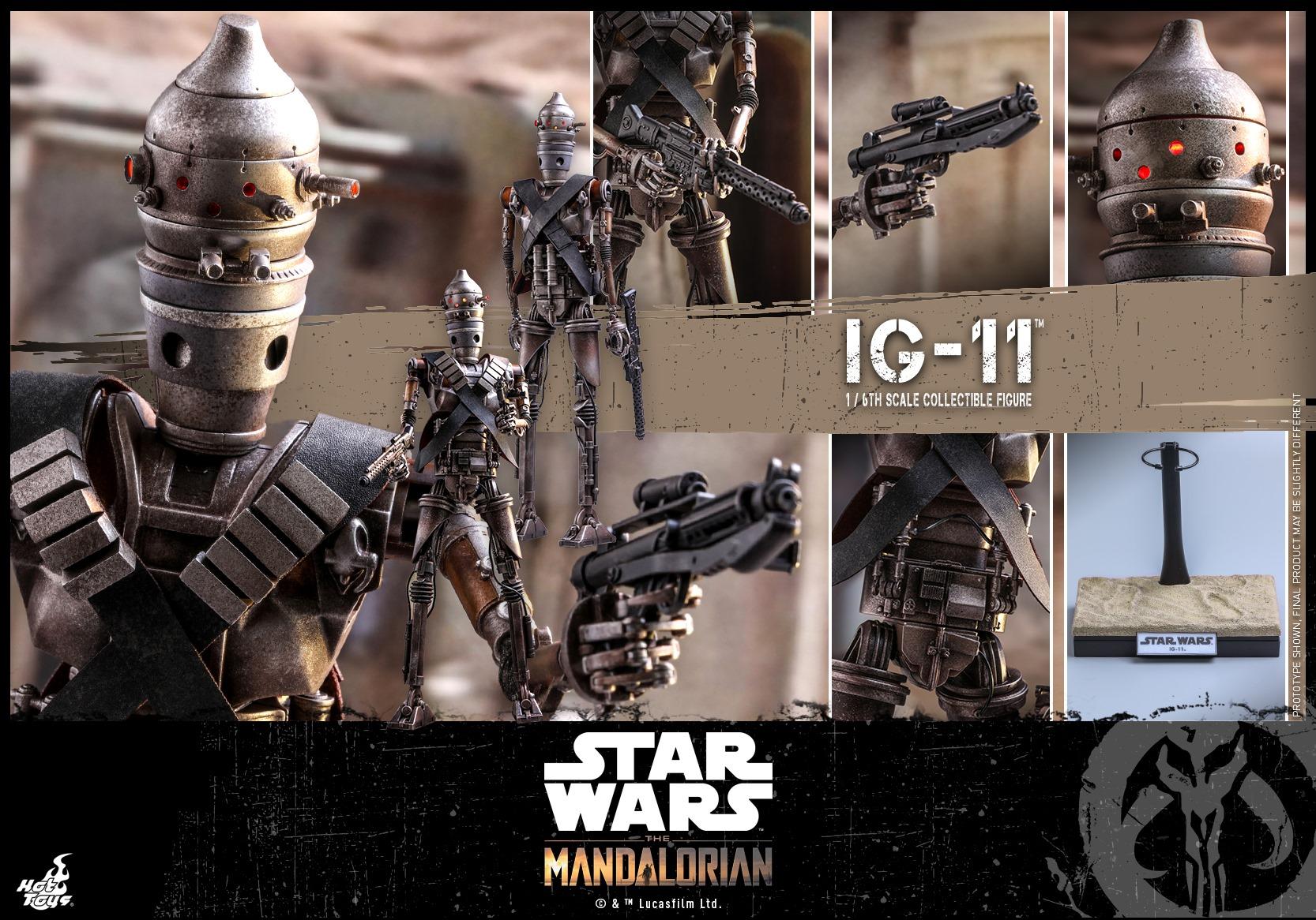 The Mandalorian - IG-11 - figurka Hot Toys