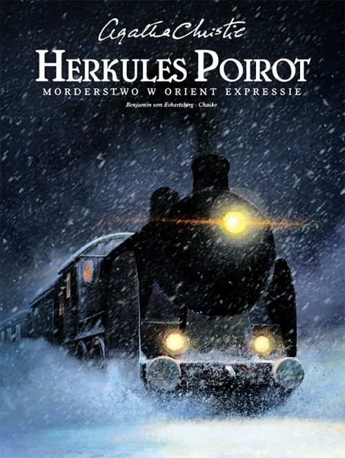 Agatha Christie. Herkules Poirot - Morderstwo w Orient Expressie - okładka