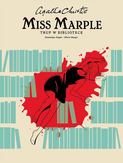 Agatha Christie. Miss Marple - Trup w bibliotece - okładka