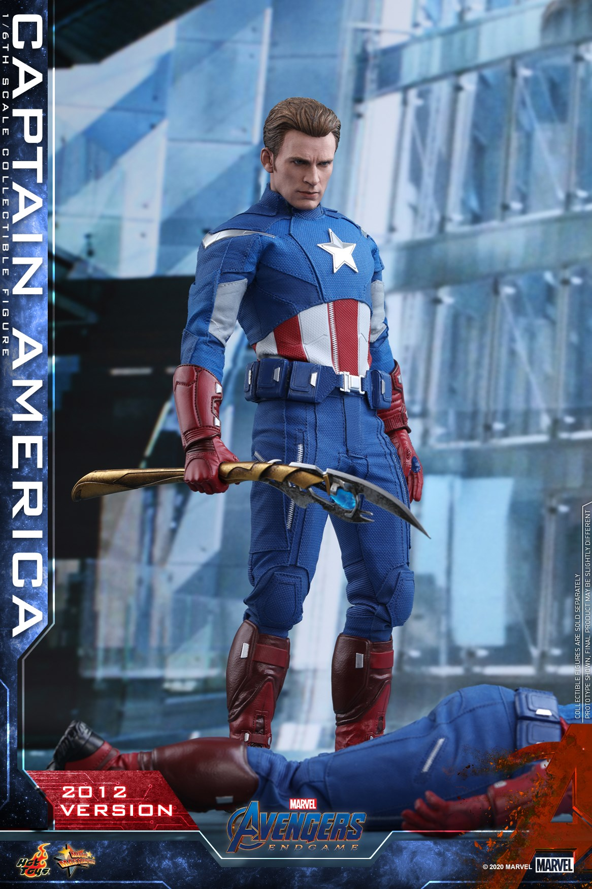 Avengers: Koniec gry - figurka Kapitan Ameryka