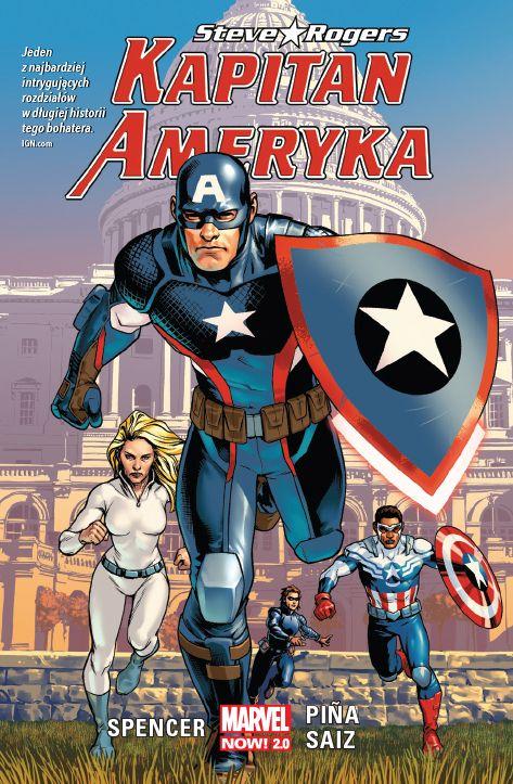 Kapitan Ameryka. Steve Rogers, tom 1 - okładka