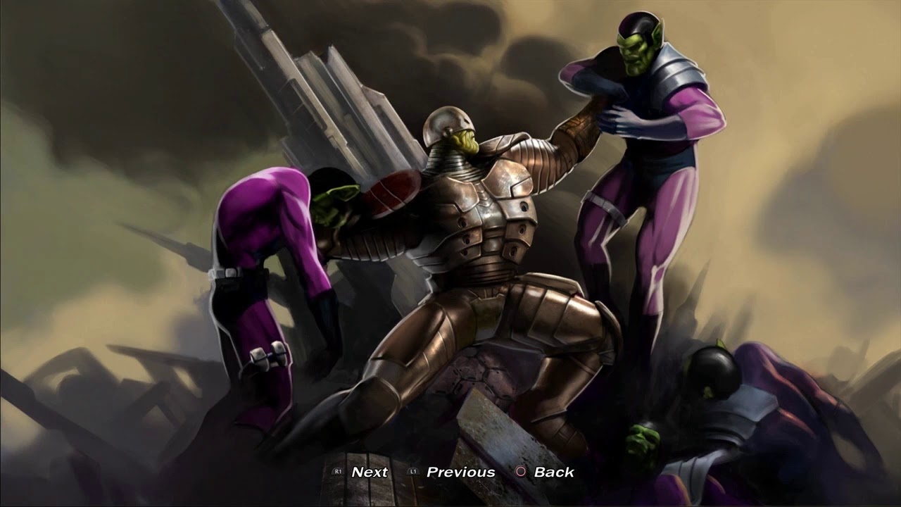 Titannus – w komiksach został on przedstawiony jako odpowiednik Kapitana Ameryki wśród Skrulli. Jest tak potężny, że na koncie ma m.in. kompletne zniszczenie Tokio i przywrócenie na swoje miejsce głowy tuż po jej wysadzeniu.