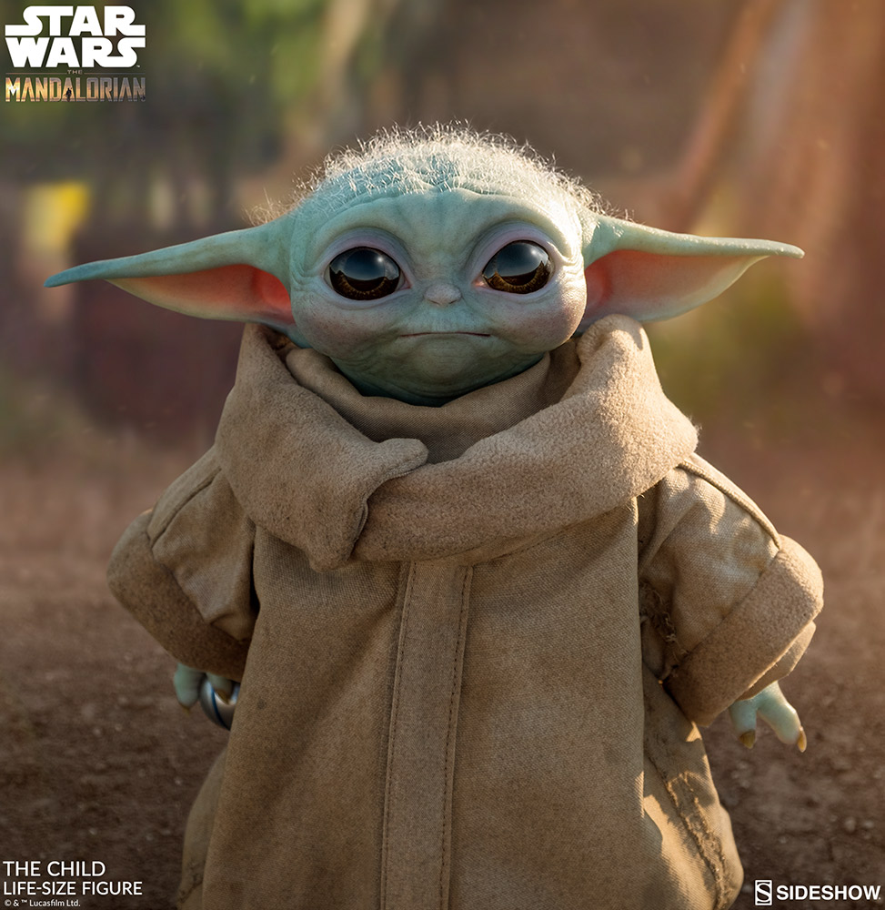Baby Yoda - replika w skali 1 do 1