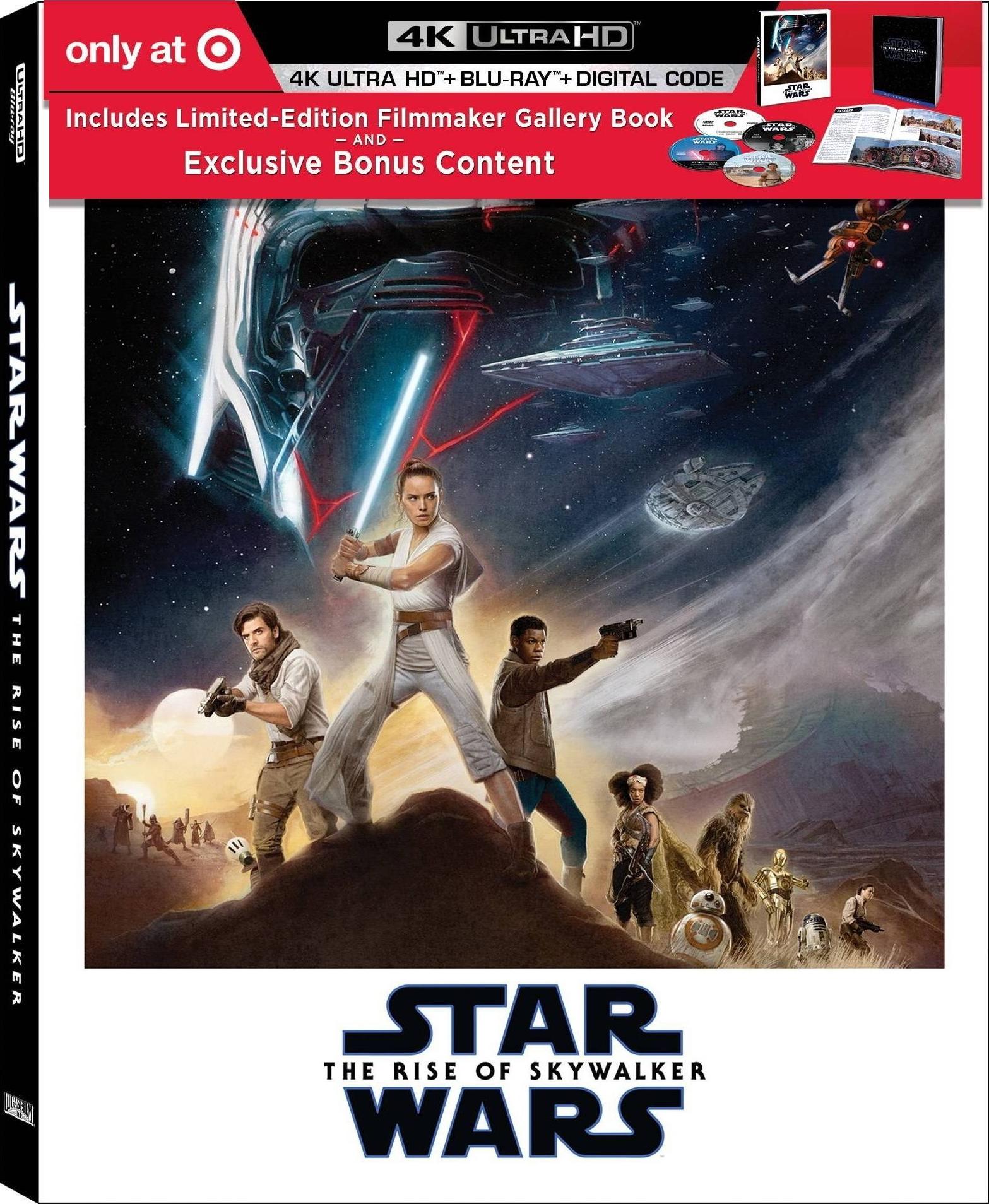 Gwiezdne Wojny: Skywalker. Odrodzenie - okładka Blu-ray