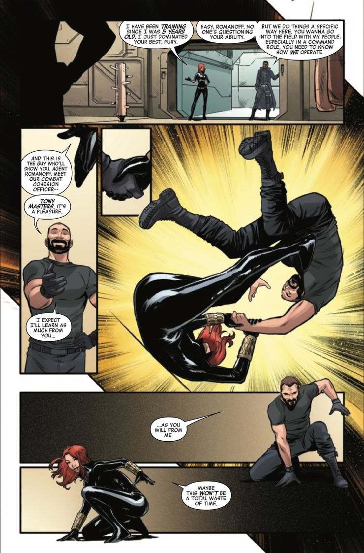Marvel's Avengers: Black Widow #1 - plansze