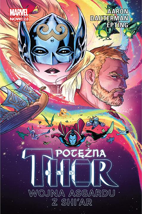 Potężna Thor – Wojna Asgardu z Shi'ar, tom 3 - okładka