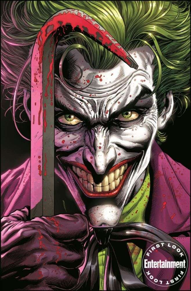 Batman: Three Jokers - okładki