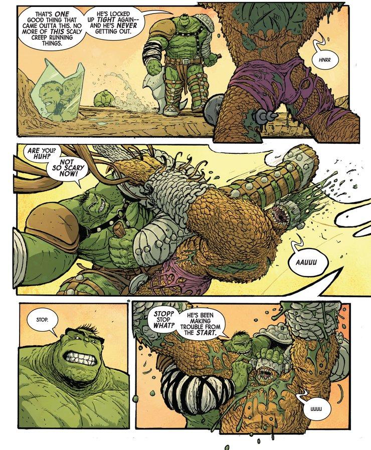 Immortal Hulk #33 - plansze