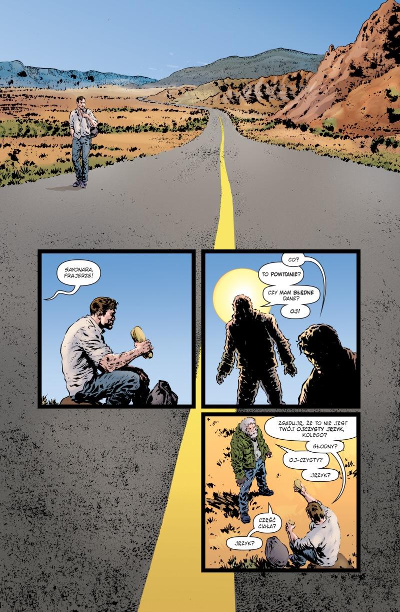 Green Lantern #01: Galaktyczny Stróż Prawa - plansze