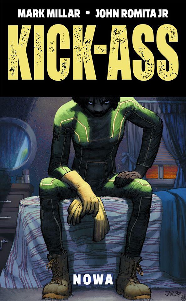 Kick-Ass. Nowa - okładka