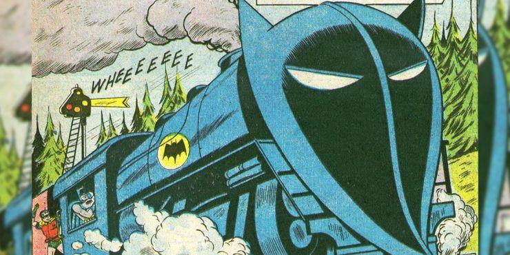 Batman #95 - Bat-pociąg ze Złotej Ery Komiksu