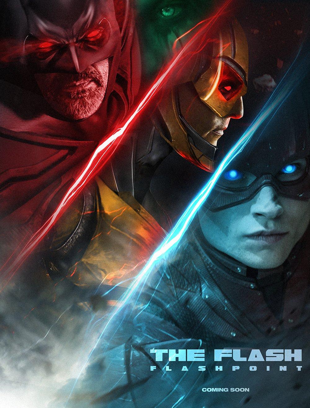 Flashpoint - plakat Boss Logica