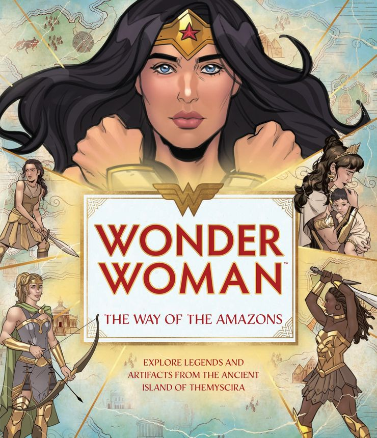 Wonder Woman: The Way of the Amazons - materiały promocyjne